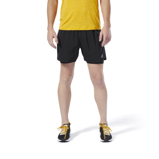 Run Essentials Two-in-One Shorts Black DU4307