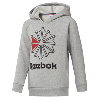 Boys Classics Hoody Medium Grey Heather DH3235
