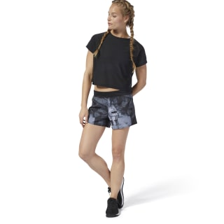 Short en toile WOR Moonshift Black DU4781