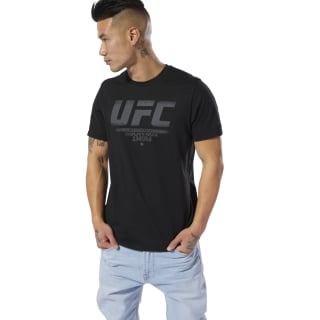 UFC Fan Gear Logo Tee Black DQ2007