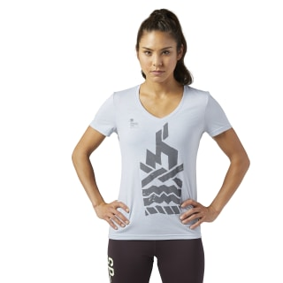 Reebok Spartan Race Tee Cloud Grey BR2115