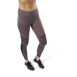 Colour blocked Leggings Purple D95069
