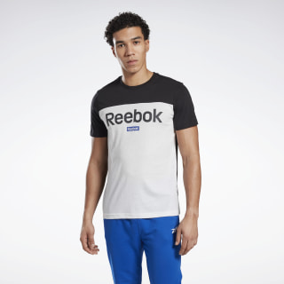 Training Essentials Linear Logo Tee Black FS1633