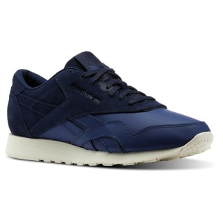 Classic Nylon AS Washed Blue / Collegiate Navy / Chalk BS9714