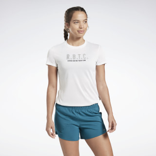 Playera One Series Running Reflective White FL0061