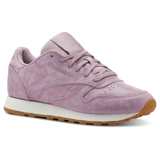 Tenis Classic Leather LTHR EXOTICS-INFUSED LILAC/CHALK CN4023