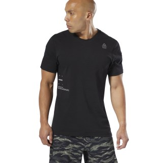 Reebok CrossFit® Mesh Move T-Shirt Black DU5058