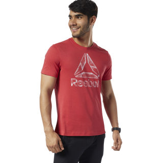 One Series Training Black Ice T-shirt Rebel Red EC2075
