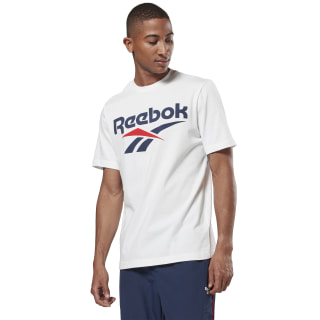 Remera Classics Vector White / Collegiate Navy FJ0734