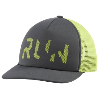 Кепка Run Club Trucker Hat Grey/cold grey 7 DU4537