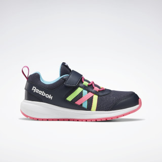 Reebok Road Supreme Shoes Collegiate Navy / Solar Pink / Neon Blue EF8040