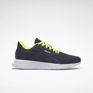Reebok Lite 2.0 Shoes Heritage Navy / White / Solar Yellow EH2696