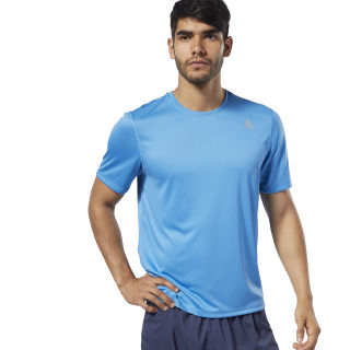 Run Essentials Tee Cyan DY8324