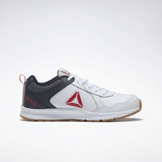 Reebok Almotio 4.0 Shoes White / Navy / Red / Gum DV8681