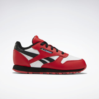 Classic Leather Shoes Primal Red / Black / White FW6830
