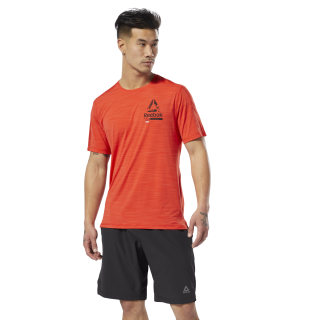 Playera OST ACTIVCHILL Graphic T Canton Red DU3939