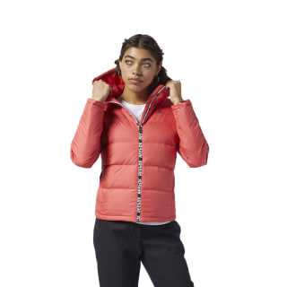 Outdoor Mid Weight Down Jacket Rebel Red EJ8330