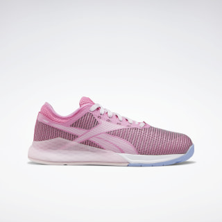 Reebok Nano 9 Shoes - Grade School Posh Pink / Pixel Pink / Cornflower Blue EG2576