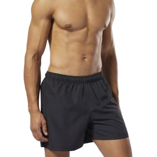 Beachwear Basic Boxer Shorts Black / Black DU4017