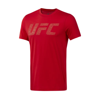 GRAPHIC TEE SHORT SLEEVE UFC FG LOGO TEE primal red D95021