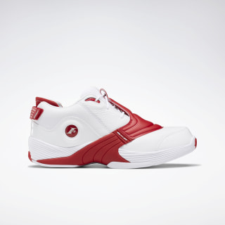 Answer V Basketball Shoes White / Power Red / None DV6961