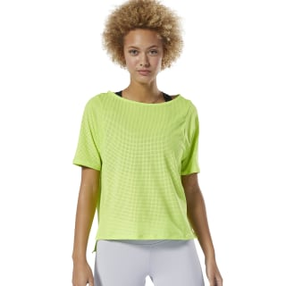 T-shirt perforé Neon Lime DU4118