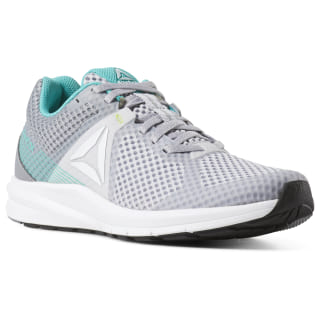 Tênis F Reebok Endless Road cldgry2r / cldgry4r / sld teal / wht / blk / n lime CN6428