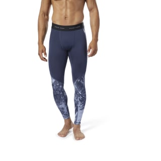 Legginsy Combat Jacquard Denim Dust DZ4711