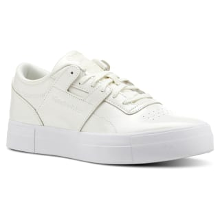 Workout Lo Shny Suede-White / Chalk CN5235