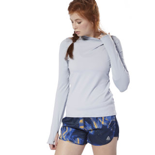 Sweat à capuche Running Essentials Cold Grey DU4239