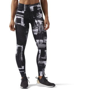 Reebok Lux Tights - Geocast WHITE CF5905