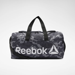 Core Graphic Medium Grip Duffel Bag Black EC5483