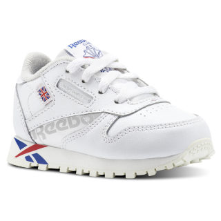 CLASSIC LEATHER White/Darkroyal/Excellentred/Snowgry/Chalk DV4650