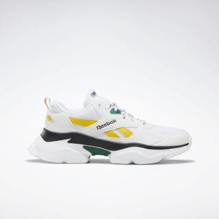 Reebok Royal Bridge 3.0 Shoes White / Green / Yellow / Black DV8846