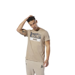 T-shirt UFC Fight Week Sand Beige DU4572