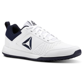 Reebok CXT - Synthetic Leather Pack White / Collegiate Navy / Silver CN4678