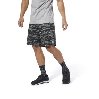 Pantalón corto Reebok CrossFit® Epic Camo Cordlock Hunter Green DP4579