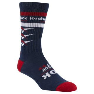 Classics Vector Graphic Crew sock Collegiate Navy DN6023
