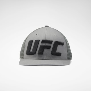 UFC Logo Trucker Cap Medium Grey EI0813