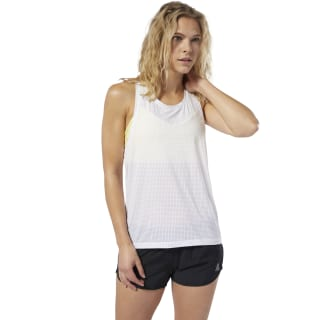 LES MILLS® Perforated Tank Top White DV2715