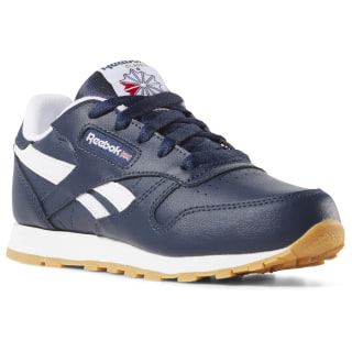 CLASSIC LEATHER Collegiate Navy / White / Gum DV4572