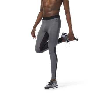 Speedwick Compression Tight Dark Grey Heather DJ2220