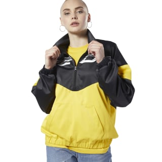 Felpa Classics Advance Oversize Toxic Yellow EB5122
