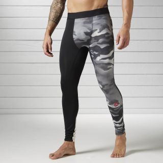 Tight de Compresión Spray Camo BLACK BK3982