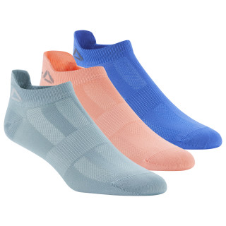 Reebok ONE Series Socks - 3pack Teal Fog/Stellar Pink/Crushed Cobalt DU2830