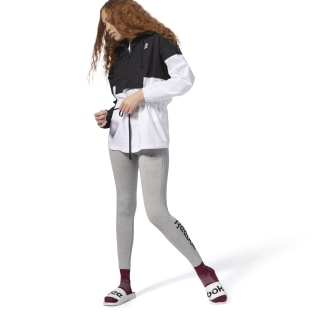 Essential Jersey Legging Medium Grey Heather / Black DH1366