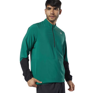 Running Essentials Woven Wind Jacket Clover Green DY8302