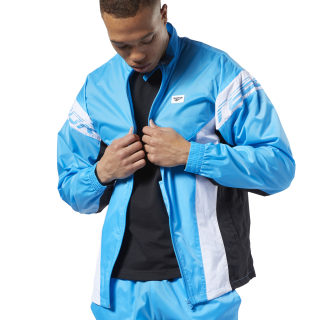 Veste de survêtement Classics Advance Bright Cyan EC4581