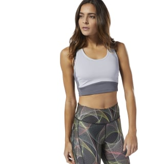 Crop top Bolton Track Club Cold Grey DP6635