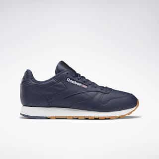 Classic Leather Heritage Navy / White DV7170